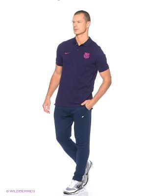 Футболка-поло FCB M NSW POLO PQ CRE Nike. Цвет: фиолетовый