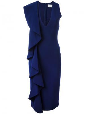 Платье Ceara Solace. Цвет: синий