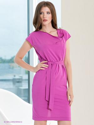 Платье Satin. Цвет: сиреневый
