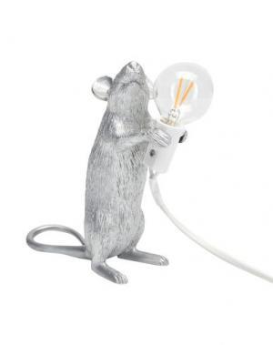 Настольная лампа SELETTI. Цвет: серебристый