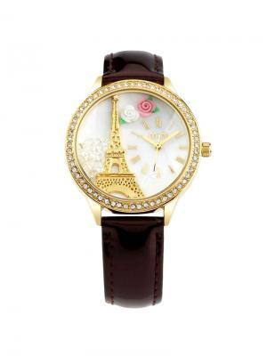 Наручные часы Mini.. Цвет: коричневый, золотистый