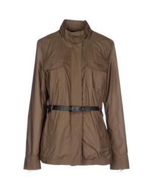 Куртка BROOKSFIELD. Цвет: зеленый-милитари
