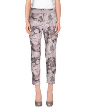 Повседневные брюки PAMELA MILANO. Цвет: светло-розовый