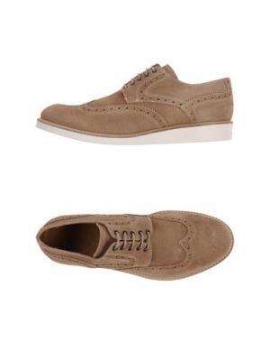 Обувь на шнурках SIMONE MARIOTTI. Цвет: песочный