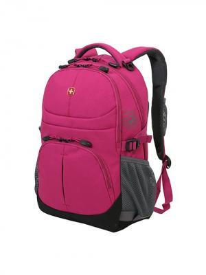 Рюкзак WENGER. Цвет: розовый, серый