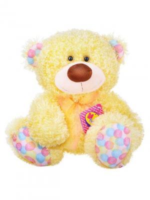 Мягкая игрушка Медвежонок Ник, Malvina. Цвет: желтый
