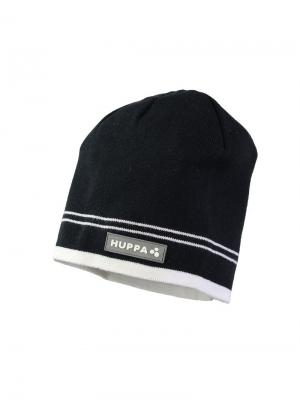 Вязаная детская шапка TOM HUPPA. Цвет: черный