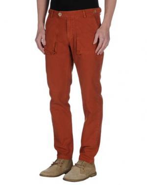 Повседневные брюки MOLO ELEVEN. Цвет: коричневый