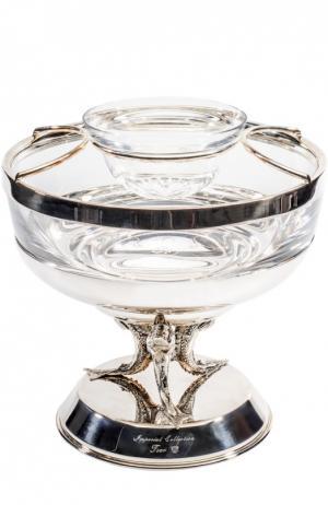 Икорница Tsar. Цвет: серебряный