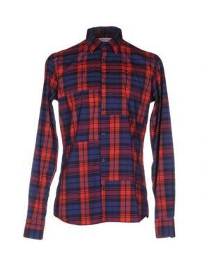 Pубашка AGLINI. Цвет: красный