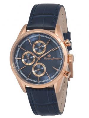 Часы наручные Romanoff. Цвет: темно-синий