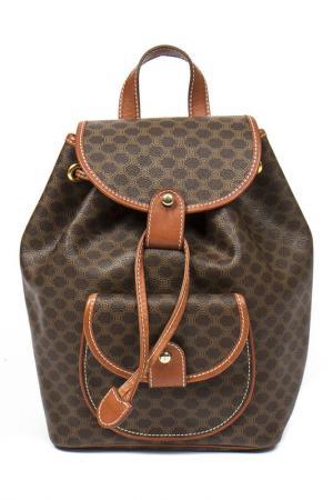 Backpack CELINE VINTAGE. Цвет: brown