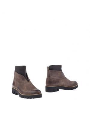 Полусапоги и высокие ботинки BAGATT. Цвет: серый
