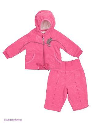 Комплект HUPPA. Цвет: розовый