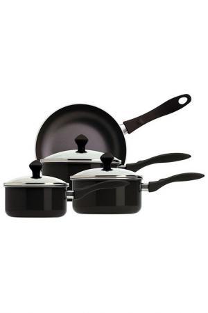 Набор посуды 4 пр. Meyer. Цвет: черный, стальной