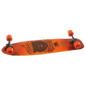 Лонгборд  Kodiak Downhill Longboard Sunburst 9.75 x 36 (91.5 см) Dusters. Цвет: оранжевый