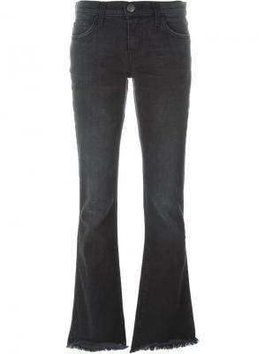 Расклешенные джинсы Current/Elliott. Цвет: чёрный