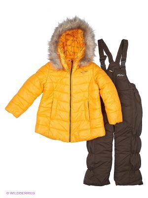 Комплект одежды Goldy. Цвет: желтый