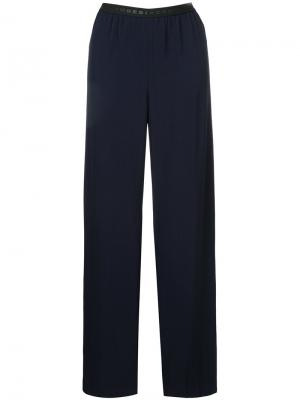 Широкие брюки Zambesi. Цвет: синий