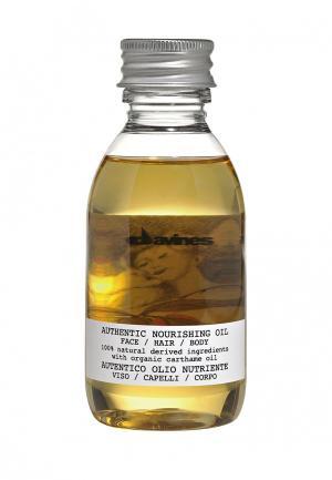 Питательное масло Davines. Цвет: желтый