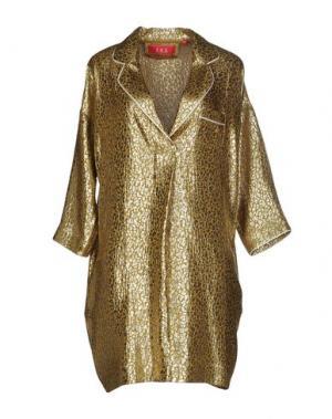 Ночная рубашка F.R.S. FOR RESTLESS SLEEPERS. Цвет: золотистый