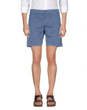 Повседневные шорты BASICON. Цвет: грифельно-синий