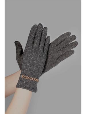 Пеpчатки Sophie Ramage. Цвет: серый