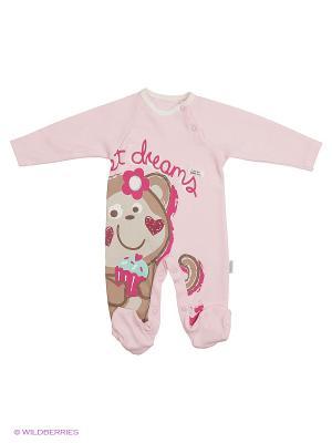 Комбинезон для малышей WO&GO. Цвет: розовый