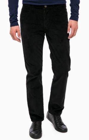 Черные вельветовые брюки Wrangler W12OEC100