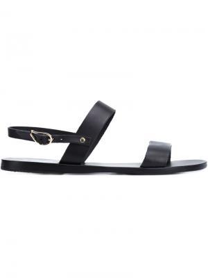 Сандалии Clio Ancient Greek Sandals. Цвет: чёрный