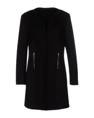 Легкое пальто JOSEPH RIBKOFF. Цвет: черный