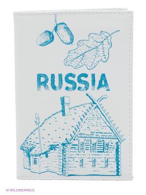Обложка для автодокументов Mitya Veselkov. Цвет: белый