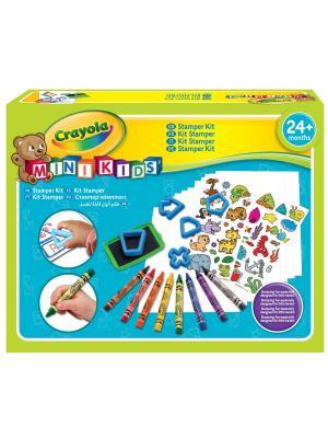Набор для рисования Crayola. Цвет: голубой