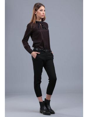 Блузка ЭНСО. Цвет: черный
