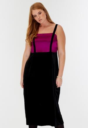 Платье W&B. Цвет: черный