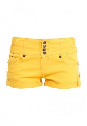 Шорты BlinQ. Цвет: желтый
