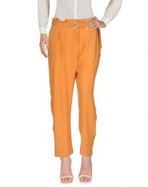 Повседневные брюки ALYSI. Цвет: охра