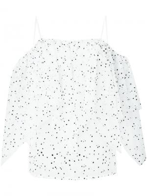 Блузка Lily Racil. Цвет: белый