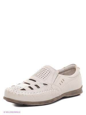 Туфли BELWEST. Цвет: бежевый