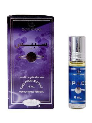 Арабские масляные духи Космос (Space), 6 мл Al Rehab. Цвет: темно-синий