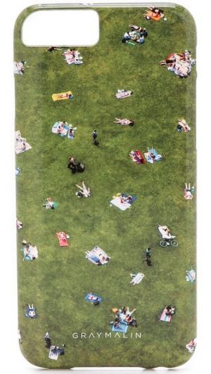 Чехол Central Park для iPhone 6/6s Gray Malin
