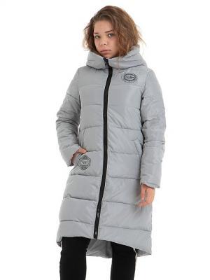 Пальто TOPKLAER. Цвет: серый