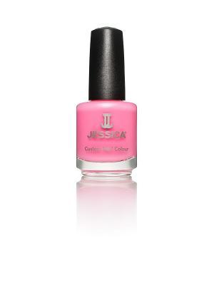 Лак для ногтей  #336 Flirty, 14,8 мл JESSICA. Цвет: розовый