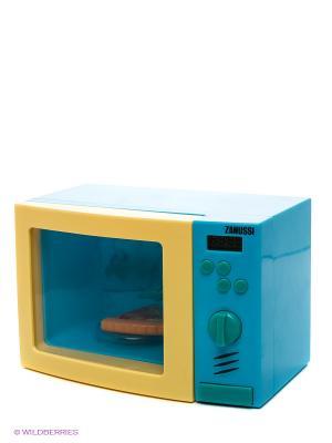 Микроволновая печь HTI. Цвет: бирюзовый, желтый