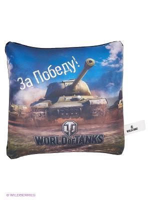 Игрушка антистресс World of Tanks. Цвет: черный