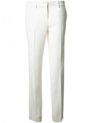 Зауженные брюки Etro. Цвет: белый