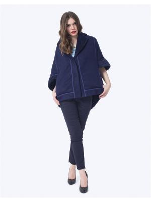 Пальто LO. Цвет: синий