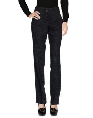 Повседневные брюки ANIYE BY. Цвет: стальной серый