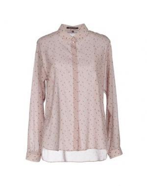 Pубашка WALTER VOULAZ. Цвет: пастельно-розовый