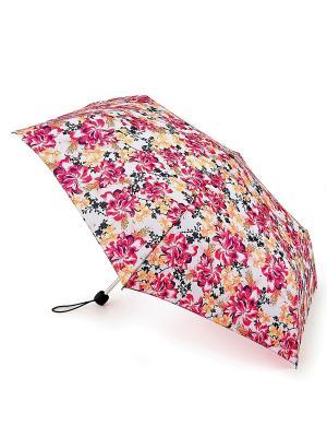 Зонт женский механика Fulton. Цвет: розовый